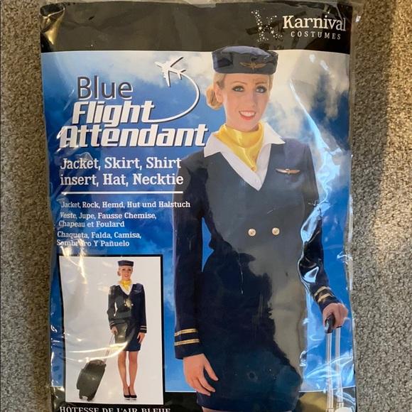 Flight attendant Halloween costume